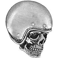 Hells-Design - Pin's spilla da motociclista con teschio