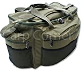 Large Green Carp Coarse Fishing Tackle Bag Carry Carryall With Padded Strap NGT