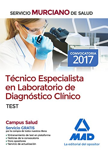Descargar TECNICO ESPECIALISTA EN LABORATORIO DE DIAGNOSTICO CLINICO DEL SERVICIO MURCIANO: TEST