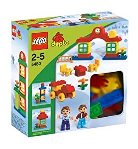 lego duplo 5480 steine hausbau set spielzeug. Black Bedroom Furniture Sets. Home Design Ideas