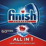 Finish All in 1 XXL Pack, Spülmaschinentabs, 60 Tabs