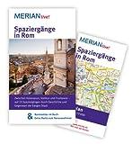 MERIAN live! Reiseführer Spaziergänge in Rom: MERIAN live! - Mit Kartenatlas im Buch und Extra-Karte zum Herausnehmen