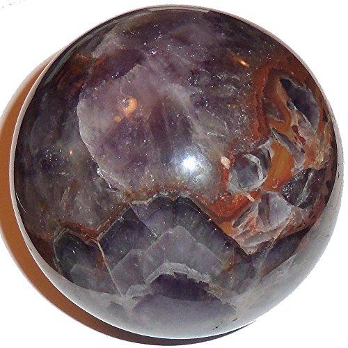Heilung Kristalle Indien® Amethyst Kugel Mosaik Dunkel Lila Crystal Healing Sphere 1pc 40–50mm Aura Balancing metaphysisch Ball–Frei eboo - Mosaik Dunkel