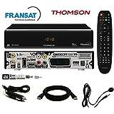 Pack récepteur Thomson THS805 HD + Carte Fransat + Câble 12V + Déport IR + Câble HDMi Offert