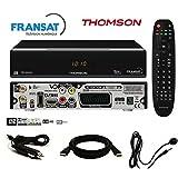 Thomson–Pack ricevitore Thomson ths805HD + Scheda FRANSAT + Cavo 12V + ripetitore IR + Cavo HDMI in omaggio–ths805fullpack immagine