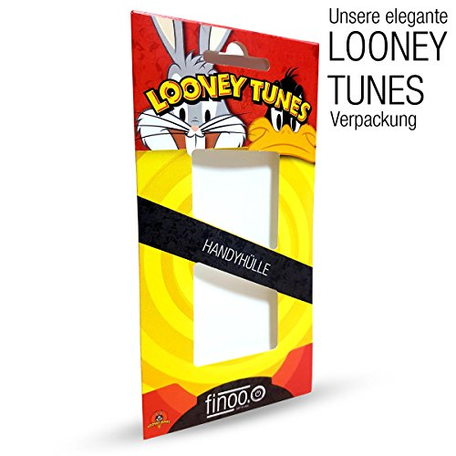 Hardcase Looney Tunes Bugs Bunny Série 1 - What's en haut Doc, Iphone 7 Bugs (Bogues) Bleu rond grand