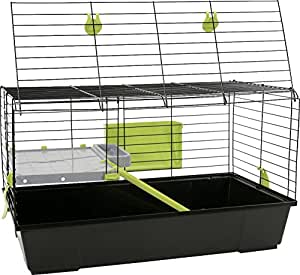 Cages rongeurs - Cage Rongeur Lapin ou Cobaye Galipette Pliable 100 cm