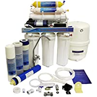 Finerfilters Domestic - Unidad de osmosis inversa de 6 etapas con bomba para el hogar