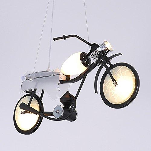 Lampada da soffitto lampadario in ferro battuto in stile nordico Lampada da tavolo moto creativa lampadario Cafe Hotel negozio di abbigliamento luci decorative