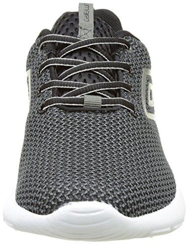 Umbro Chadelton, Baskets Basses Homme Noir (NOIR/ GRIS)