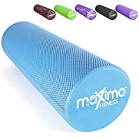 Maximo Fitness - EVA Foam Roller - 15cm x 45cm Pilates, Yoga.