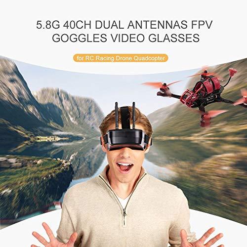 Goolsky 5.8G 40CH FPV Goggles Gafas Video Antenas