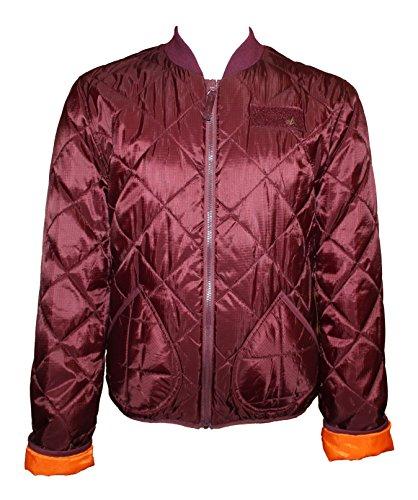ALPHA INDUSTRIES Pack Jacket Steppjacke Blouson Fliegerjacke Rot Herren Jacke L