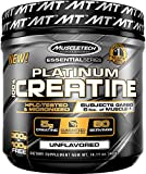 MuscleTech Platinum 100% Creatine, Ultra-Pure Micronized Creatine Powder, 80 Servings, 0.88 lbs (400g) by Unknown