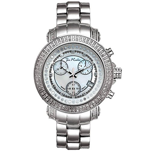 Joe Rodeo Diamant Homme Montre - RIO argent 1.25 ctw