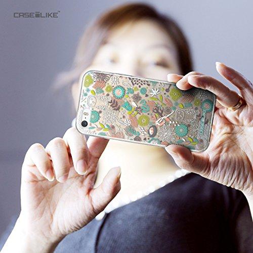 CASEiLIKE Comic Beschriftung 2914 Ultra Slim Back Hart Plastik Stoßstange Hülle Cover for Apple iPhone 5G / 5S +Folie Displayschutzfolie +Eingabestift Touchstift (Zufällige Farbe) 2241