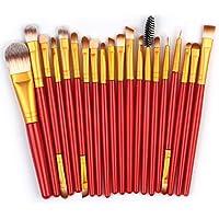 VEHOM Profesional cepillos de maquillaje facial cepilloS-Maquillaje de Ojos Rubor Contorno de los Labios Corrector.