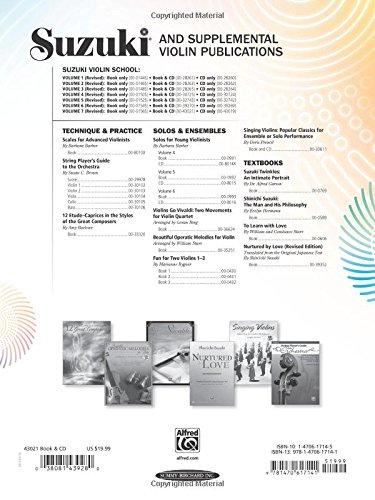 Suzuki Violin School, Vol 7: Violin Part, Book & CD
