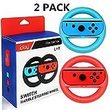 Runfon 2* Volantes para Nintendo Switch Grips de Mango de Rueda para...