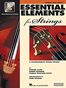 Essential Elements 2000 for Strings: Double Bass, Book 1 (Essential Elements for Strings)