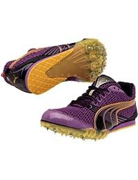 Puma Women Complete TFX Distance 3 185371 03 - Zapatillas de running con clavos, color morado y negro