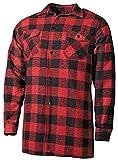 Holzfäller Hemd Canadian Woodcutter rot-schwarz S-XXL L
