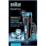 Braun CoolTec CT2cc elektrischer Rasierer / Rasierapparat (mit Reinigungsstation (CleanundCharge), Elektrorasierer einsetzbar als Trockenrasierer und Nassrasierer (Wet und Dry)), schwarz