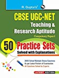#4: CBSE-UGC-NET Teaching & research Aptitude 50 pracitice sets (Solved with Explanations)