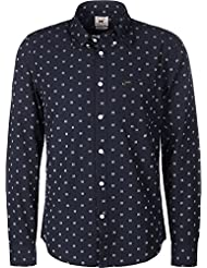 Lee Slim Button Down Camisa de manga larga