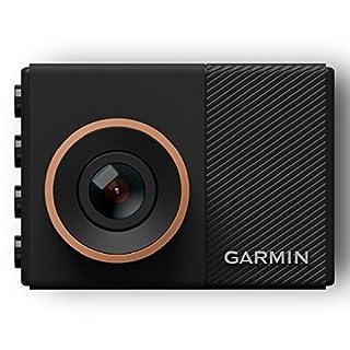 Garmin Dash Cam 55 - ultrakompaktes Design, 3,7 MP Kamera mit Schnappschussfunktion, Sprachsteuerung, Fahrspurassistent, Go!-Alarm und Überwachungsmodus beim Parken (Zertifiziert und Generalüberholt)