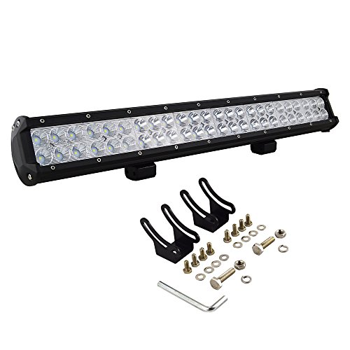 AUXTINGS 22 Inch 144W Spot Flood Barra Luces LED Work Driving Light Bar Offroad SUV Truck 4WD