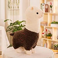 khfkdjsbfcksb Cute Alpaca Plush Toys Grass Mud Horse Figurine Pillow Backrest Children
