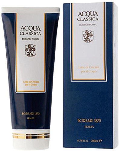Borsari 1870 Acqua Classica La Colonia Gel Doccia, Uomo, 200 ml