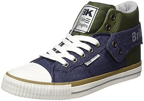 British Knights Roco, Sneakers basses homme Blau (navy/green/lt grey)