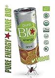 Pure BIO Energy Drink - Der erste Energy Drink mit Zutaten aus biologischem Anbau 24 x 250ml