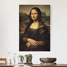 Bilderwelten Impression sur toile - Leonardo da Vinci - La Joconde - Portrait 3:2, toile imprimée toile impression photo sur toile xxl décoration murale art murale, Dimension: 180cm x 120cm x 2cm