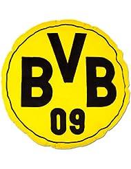 'Cojín redondo Borussia Dortmund BVB 09+ Gratis Pegatinas gratis Pegatinas Dortmund Forever, Pillow, almohada, Oreiller