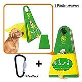 okomatch Pet Kotbeutel tragbar und Einweg-Hundekotbeutel Aufheben Bag/collector-biodegradable-outdoor für Hundekot & Home Anwendung, 1 Stück, S