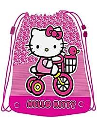 Hello Kitty - Saco mochilas, 44 x 33 cm (Fantasy Store HK0511/AS6945/6)