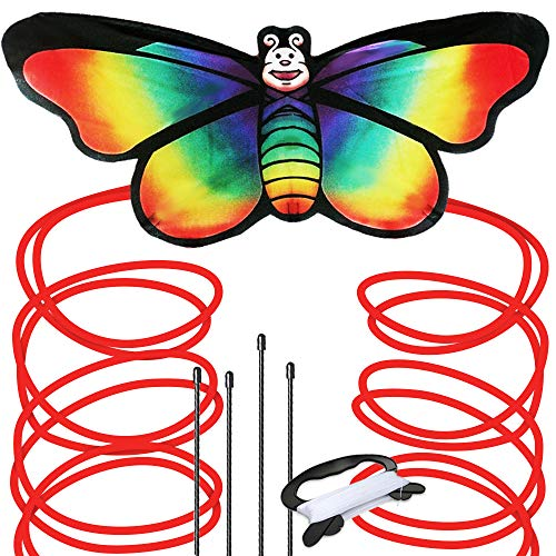 Kites & Accessories Discreet Funny Sports Toy Gift Childrens Butterfly Kite Easy To Fly Single Line Kite Tail 1.5m Outdoor Funny Sport Outdoor Playing Toys Outdoor Fun & Sports