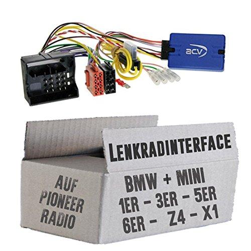 Lenkradfernbedienung Lenkradinterface BMW 1 / 3 / 5 / 6 / X1 / Z4 / Mini > Pioneer