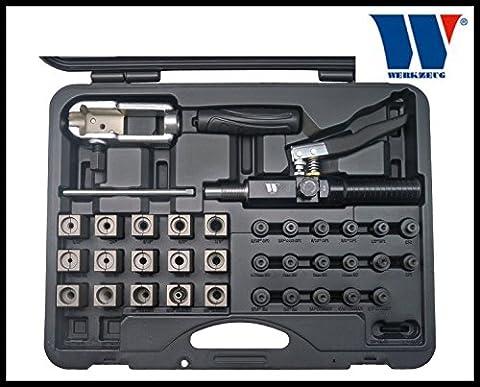 Werkzeug - Hydraulic Flaring Set - Universal Metric & SAE Etc - Pro Range 1215