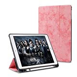 #9: ProElite Smart PU Flip Case Cover for Apple iPad 9.7