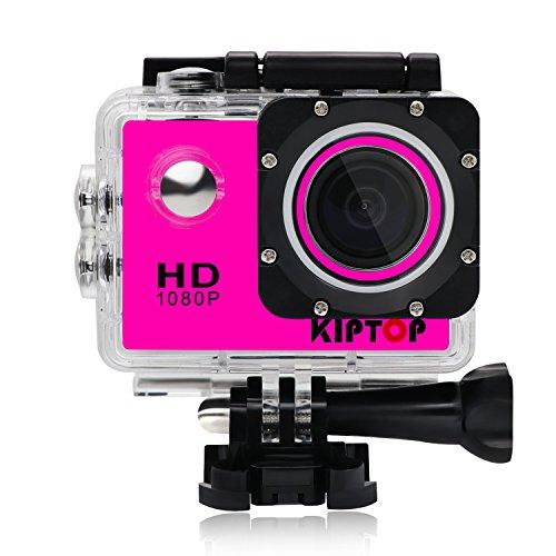 Preisvergleich Produktbild KIPTOP Unterwasserkameras 1.5 Zoll Full HD Sport Kamera 170 ° Weitwinkel Sport kamera mit zubehör