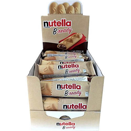 Ferrero nutella Bready 19g (pack of 36)