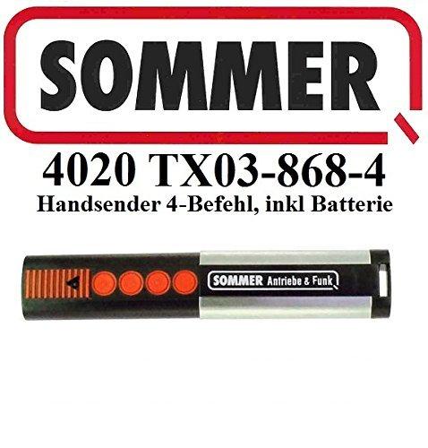 Sommer 4020 TX03-868-4, 4 - Befehl 868,8MHz Original Handsender