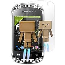 Samsung Galaxy Music (GT-S6010) Spiegelfolie - atFoliX FX-Mirror Displayschutz Folie mit Spiegeleffekt