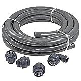 Anschluss-SET 12,0 m FlexFit flexibler PVC Druckschlauch Ø 50mm + Fittinge