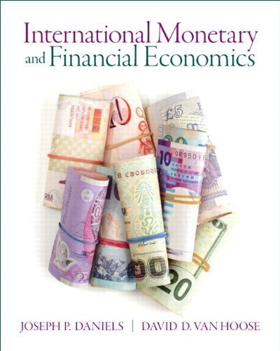 International Monetary & Financial Economics (Pearson Series in Economics) by Joseph Daniels (2012-12-31) par Joseph Daniels;David VanHoose