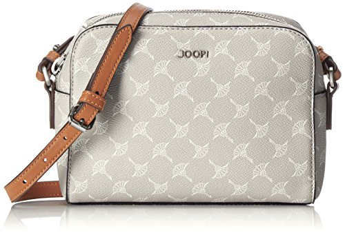 Joop! Damen Cortina Cloe Shoulderbag Shz Schultertasche, Grau (Light Grey), 6x15x21 cm
